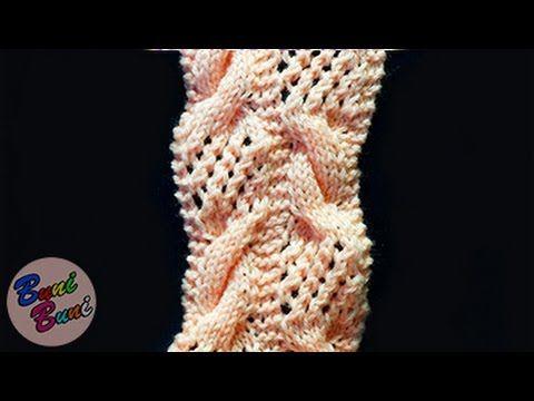 TRICOTAT - Model Torsade + Ajur (Lace Pattern + Torsades)