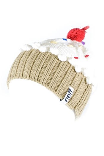 Neff Cupcake Snowboard Beanie Winter Hat - Girls/Womens on sale at LIFTED Apparel and Boardshop - Cheap Snowboards, Skateboards, Hoodies, and Tees.