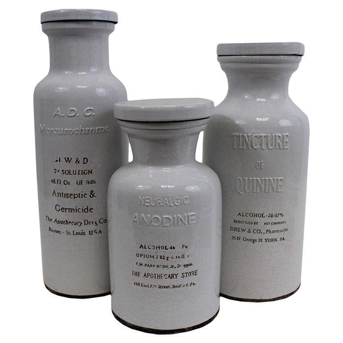 Elixir Bottle Set | Furniture and Accessories | Pinterest