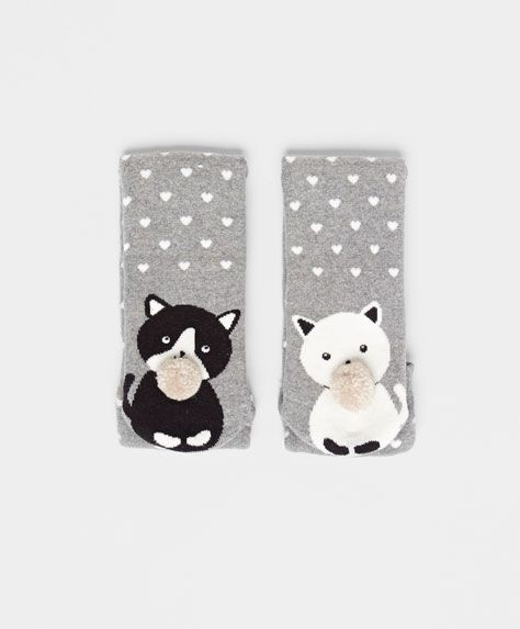 Cat Socks #oysho #socks