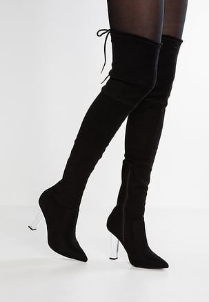 KANDY SHOP  - High heeled boots - black