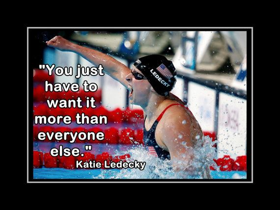 Katie Ledecky Poster Olympic Swimming Champion by ArleyArtEmporium, $11.99