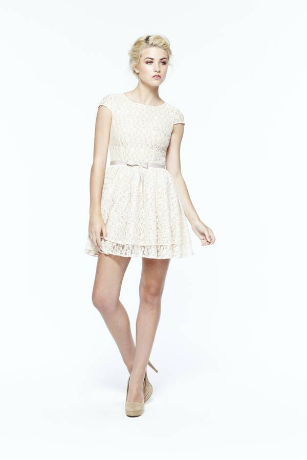little lace dress by Paper Crown