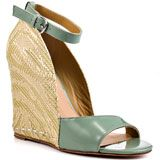 Mark and James by Badgley Mischka's Multi-Color Riva - Sage Fabric for 259.99 direct from heels.com