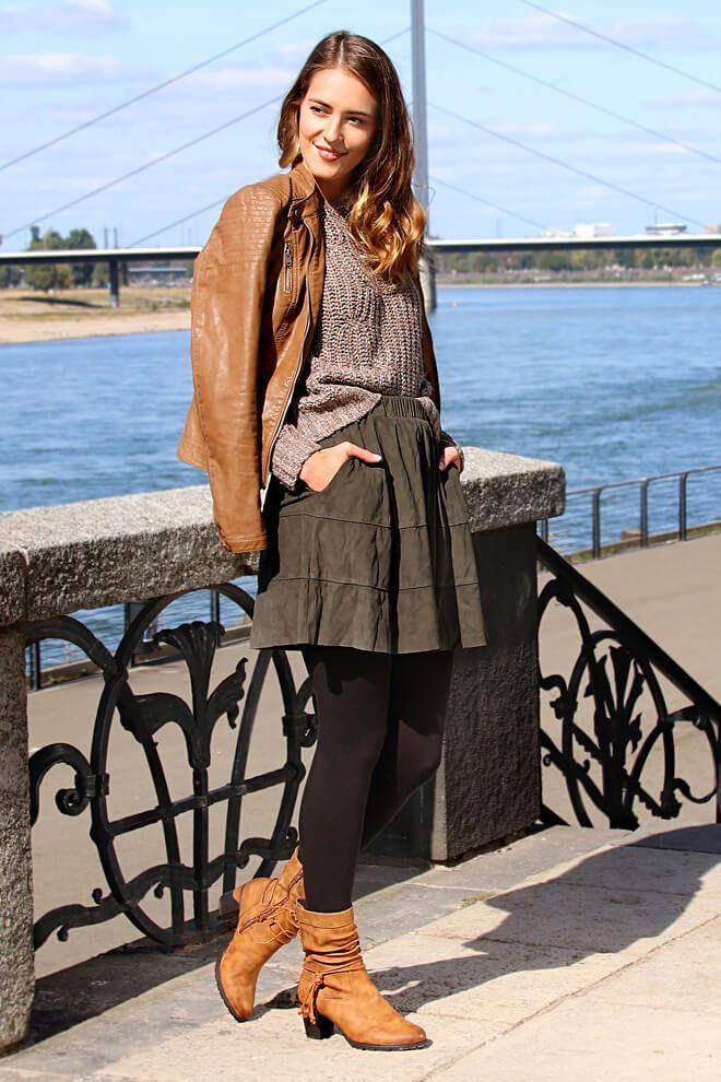 Rieker Damen Stiefel braun 96073 22   Stiefel, Herbst winter