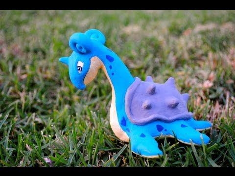 Polymer Pokemon: Lapras Sculpey [Ft. on Ryan Higa's Teehee time] ラプラス Polymer Clay - YouTube
