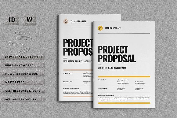 Project Proposal by Occy Design on @creativemarket