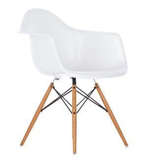 chaise plastique abs replik charles eames salle a manger design daw eiffel dar en vente sur - Eames Stuhl Replik