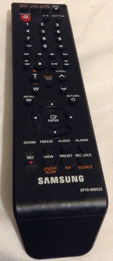 Samsung TV Blue Ray DVD Video Replacement Remote Control AK64-01610A VR-7649 #Samsung