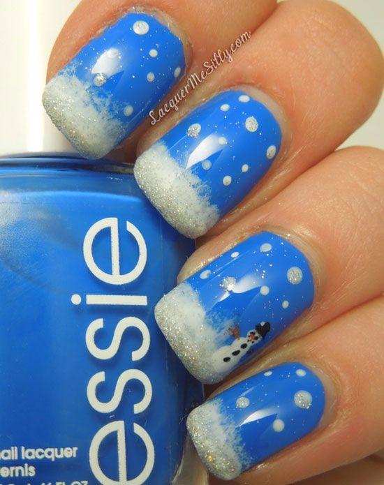 simple easy winter nail art designs ideas 20122013 epublicityprcom - Nail Design Ideas 2012