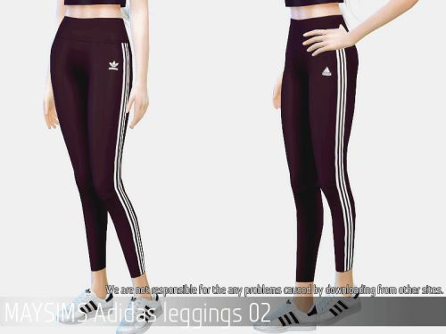 Adidas leggings 02 for The Sims 4