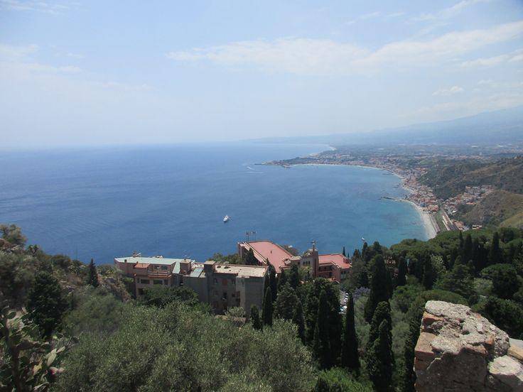Jónské moře - Taormina - ostrov Sicílie - Itálie