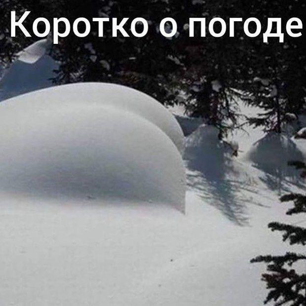 Открытка о погоде в россии