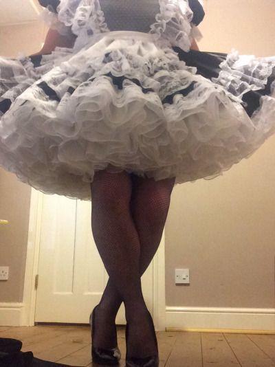 Petticoat pantyhose makeup punishment