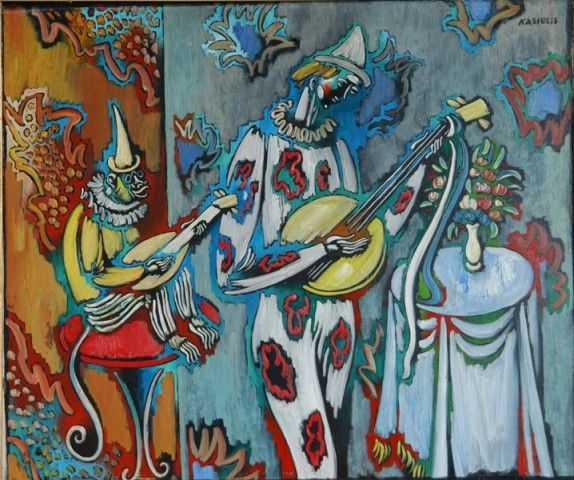 Clow and Monkey Musicians
