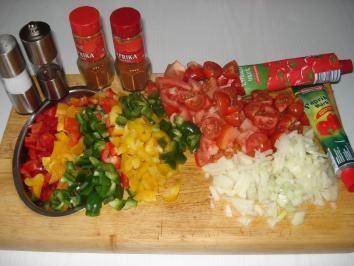 Rezept: Paprika – Gemüse – Letscho Bild Nr. 2