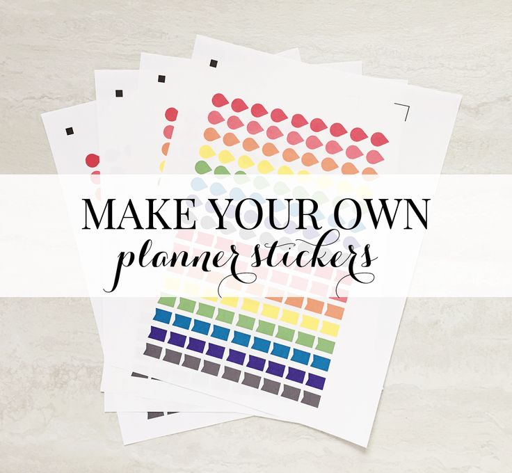 Best 20 make your own stickers ideas on pinterest for Build your own planner online