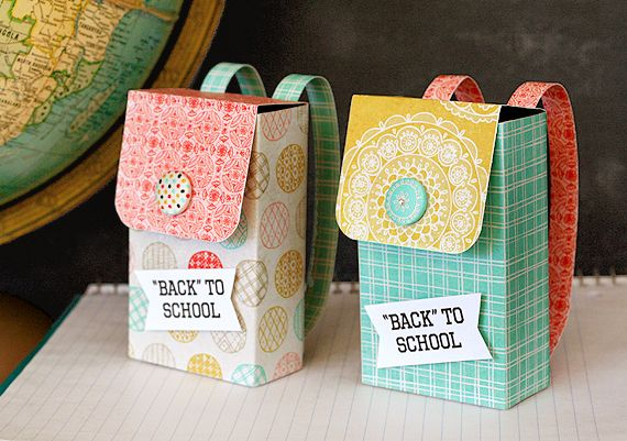 Backpack Gift Boxes | Lisa Storms
