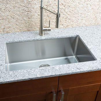 Hahn Chef Series Handmade Large Single Bowl Sink