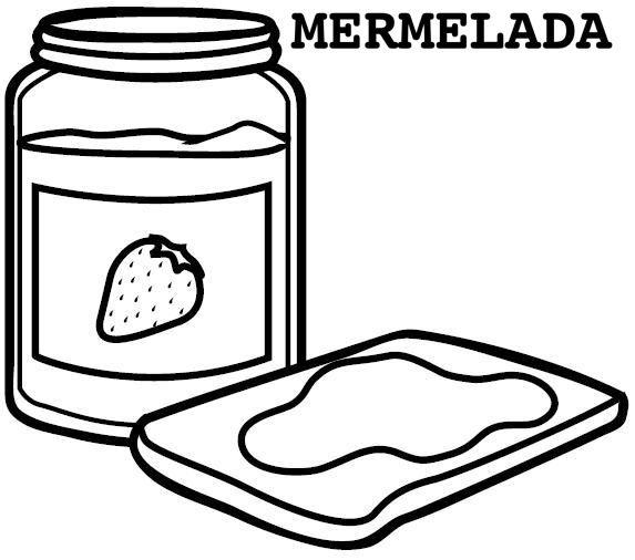 Mermelada - Dibujos alimentos  RECETAS  Pinterest