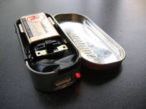 Battery Reconditioning - How to make a portable usb charger using a 9 volt battery -- sounds like a great project for M Williams - Save Money And NEVER Buy A New Battery Again