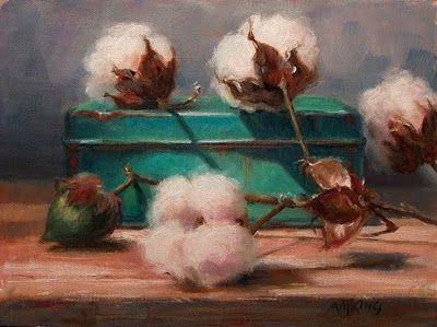 Oil on Linen / Cotton
