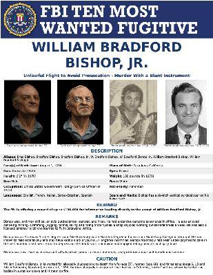 WILLIAM BRADFORD BISHOP, JR. — FBI