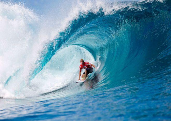 Сумасшедшее катание по волнам на доске Реально ли прокатиться на 27-метровой волне?