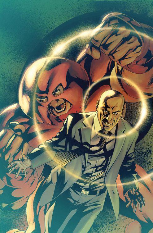 Juggernaut and Professor Xavier by Mike McKone & John Rauch