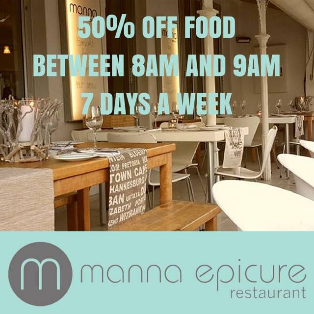 Manna Epicure, Breakfast special