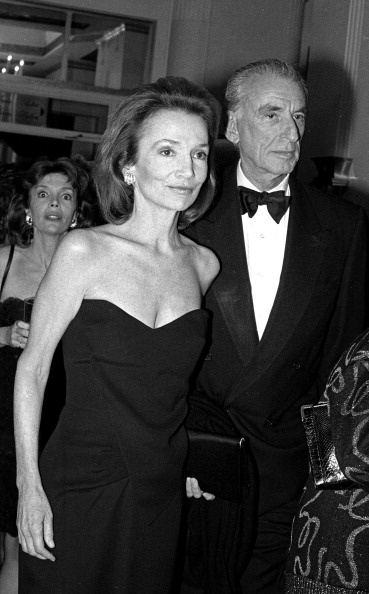 Lee Radziwell and Herb Ross at a tribute to Mike Nichols ...