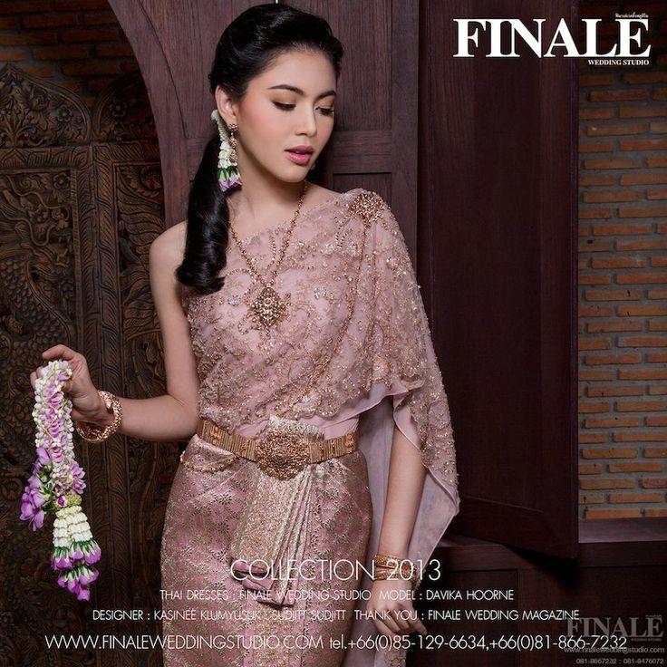 Finale wedding studio thai for Thai style wedding dress