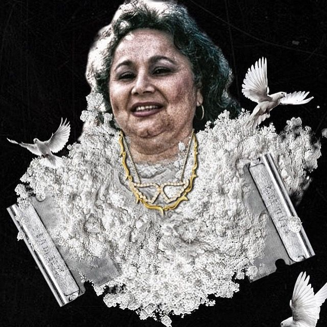 Griselda Blanco (February 15, 1943 – September 3, 2012), known as La Madrina, the Black Widow, the Cocaine Godmother and the Queen of Narco-Trafficking,