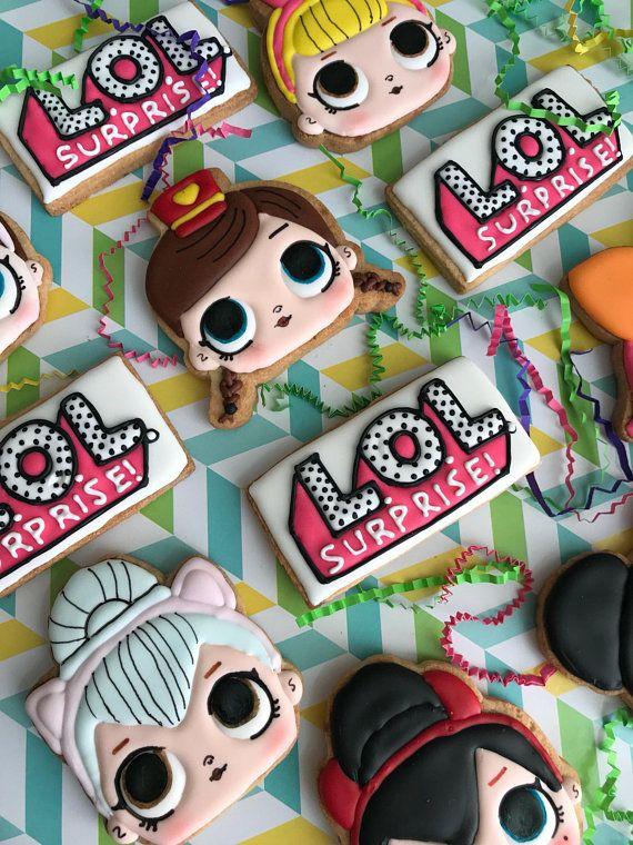 Lol Surprise Sugar Cookies Milla S 7th Birthday