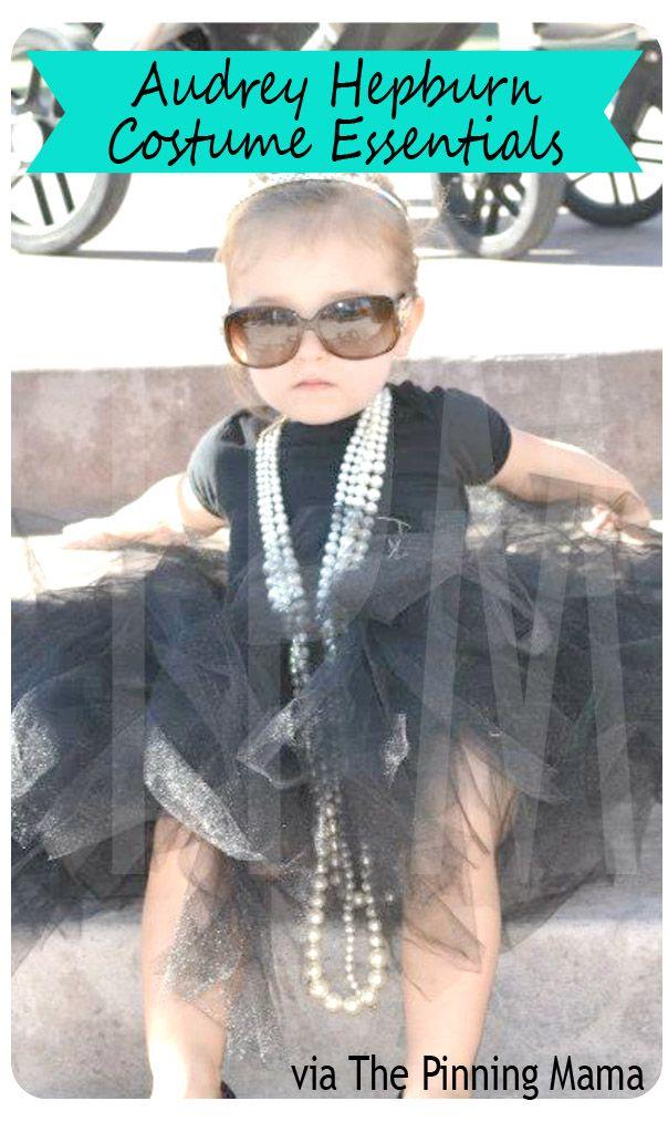 {diy} Easy Audrey Hepburn Halloween Costume Inspiration   The Pinning Mama