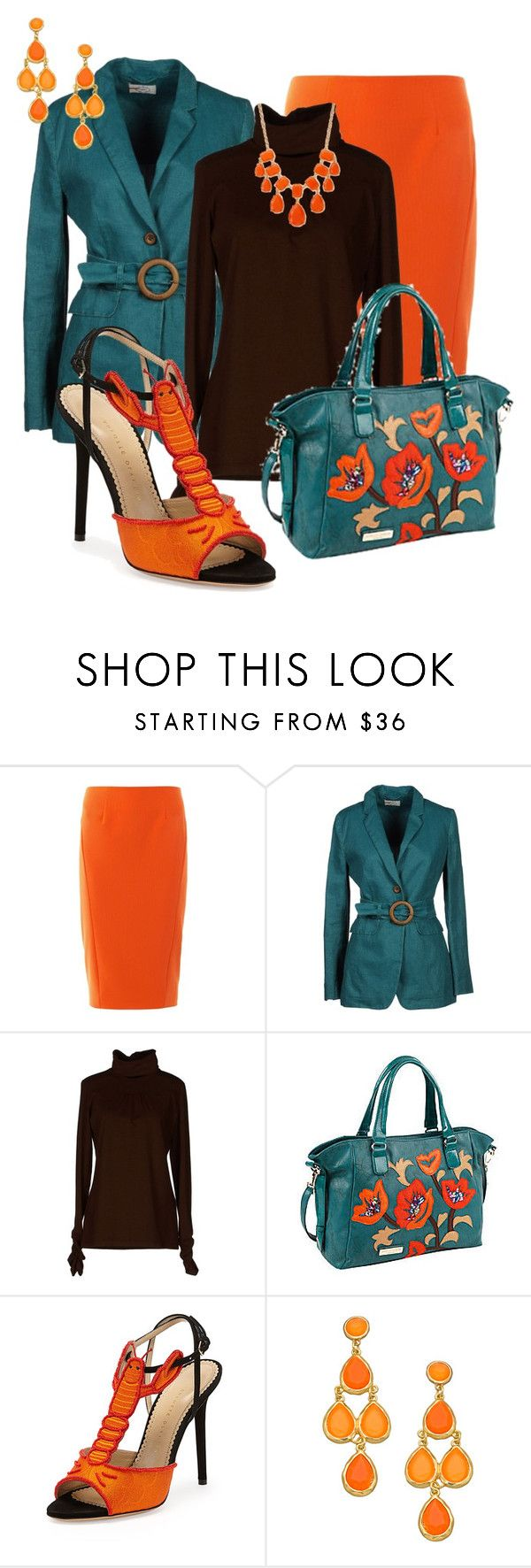 """""""Nicole Lee Handbag"""" by justbeccuz ❤ liked on Polyvore featuring Elizabeth and James, Prada Sport, Nicole Lee, Charlotte Olympia, Blu Bijoux and Forever 21"""