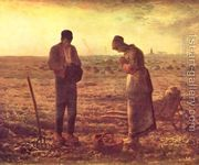 The Angelus, 1857-59  by Jean-Francois Millet