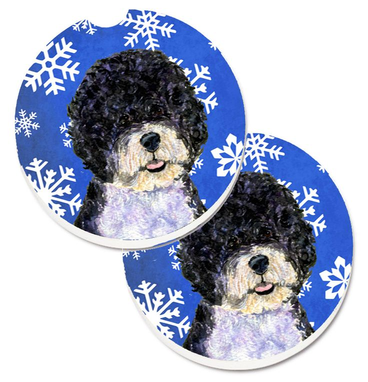 ... water dog information and pictures black and white portuguese water Portuguese Water Dog Good Bad