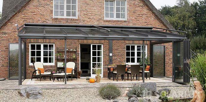 Solarlux - Glasdach - Terassen Dach - Glas SDL Atrium -