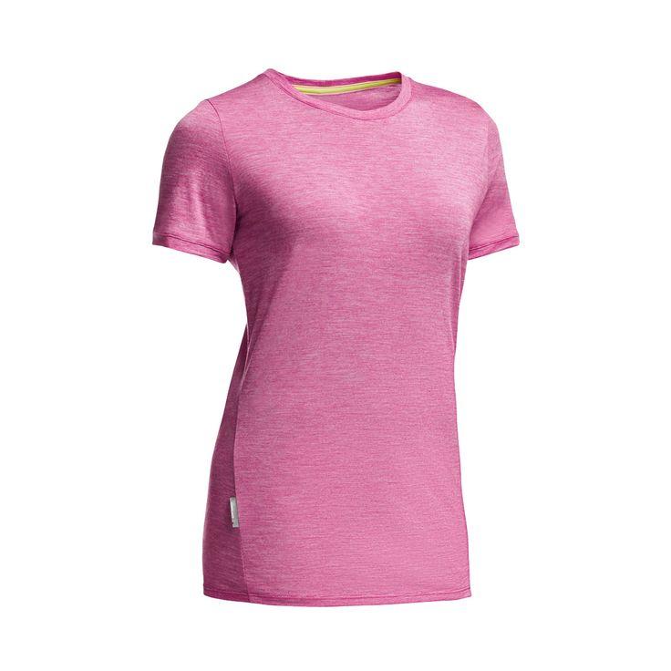 Icebreaker Women's Cool-Lite Sphere Short-Sleeve Low Crewe Shirt