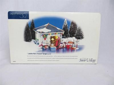 52 best dept 56 snow village images on pinterest christmas department 56 54945 another mans treasure garage sale snow village mint in box publicscrutiny Image collections