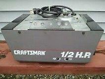 Image result for sears craftsman 1 2 hp garage door opener