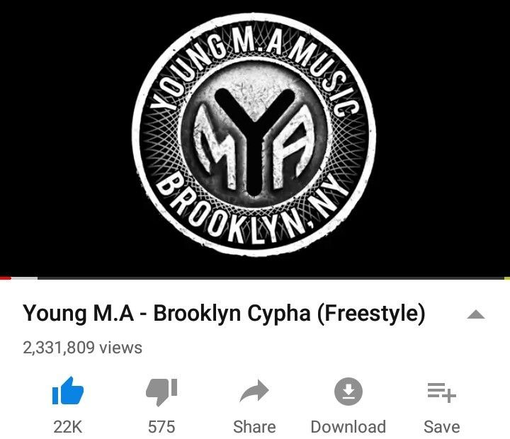 Young M A Brooklyn Cypher Freestyle Official Video Youtube Young Ma Freestyle Music Artists