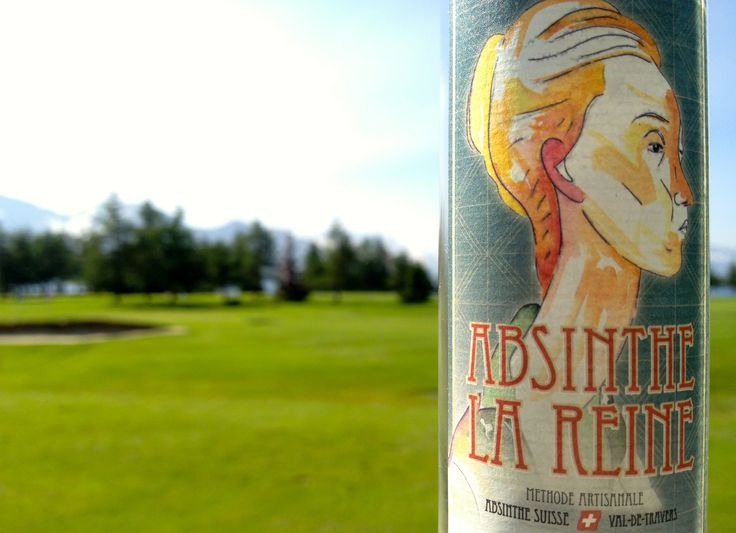 Have a look at this wounderful bottle Absinthe La Reine www.absinthe-lareine.ch   #absinthe #suisseabsinthe #golf #swissabsinthe #absinthedistribution #originalabsinthe #valdetravers #absinthelareine
