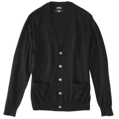 Mossimo Black® Men's Cardigan - Ebony