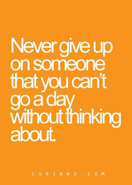 That's right. Even if u r not right there with them, have faith that you will should it be meant to be that way!!!!