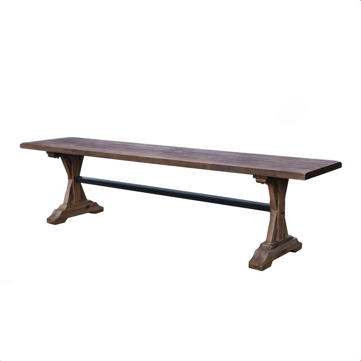 Product Information If you want to give a classic look with a modern twist to your dining room, the Chatelaine Bench may be right for you. Originating from Viet
