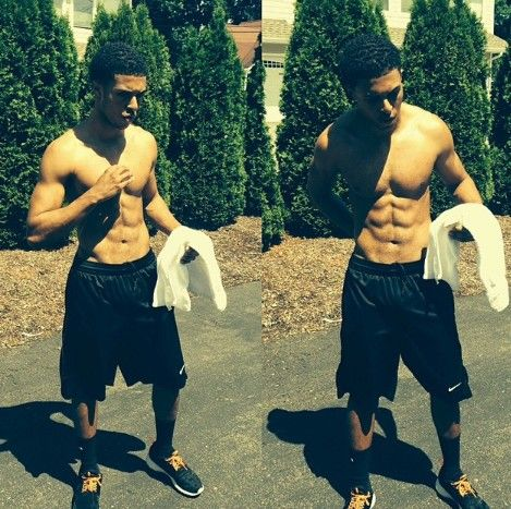 Diggy Simmons omggggggggg my body on his body now that's a body party! lol