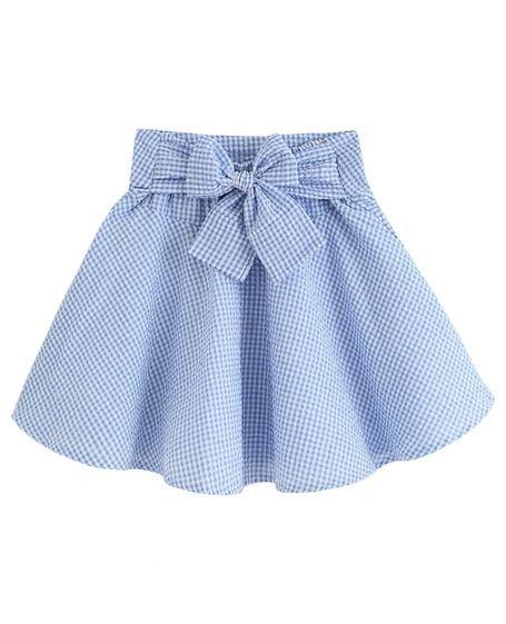 Falda para niña Paso a paso TUTORIAL