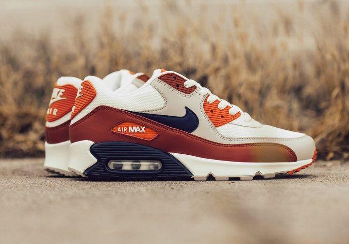 pretty nice 9a68b 0e3f6 Nike Air Max 90 Essential Mars Stone AJ1285-600